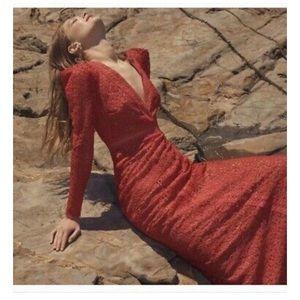 NWT RED BCBG MAXAZRI DRESS!!